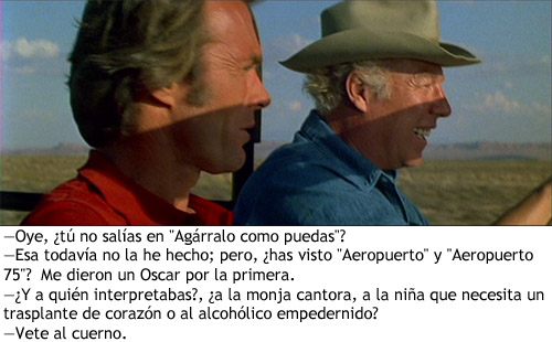 Clint Eastwood en Licencia para matar - Hemlock y Ben