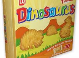 Dinosaurus, galletas de dinosaurios