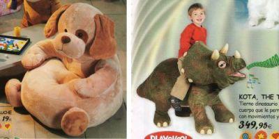 Catálogo de juguetes - Sillón perro y Kota