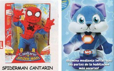 Catálogo de juguetes - Spider-Man Cantarín y el Guardián de la Noche