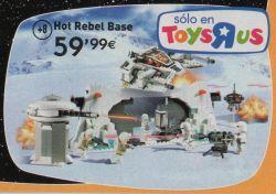 Catálogo de juguetes - Hot Rebel Base