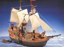 El barco pirata de Playmobil