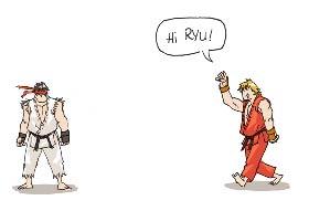 Ryu y Ken - Mini