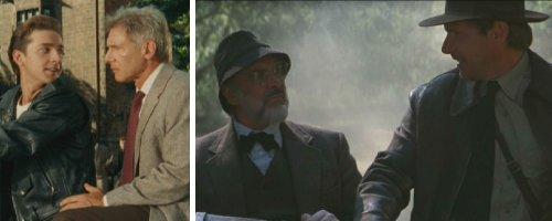 Curiosidades de Indiana Jones 4 - Padres e hijos