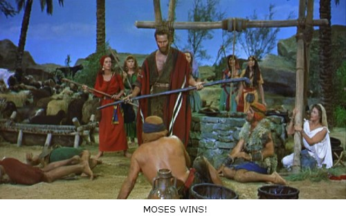 Los Diez Mandamientos - Moisé