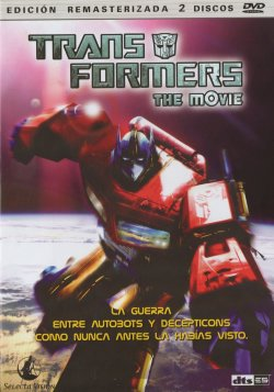 Transformers: The Movie - Carátula del DVD