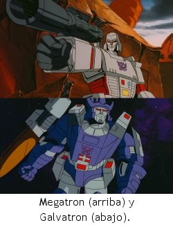 Transformers: The Movie - Megatron y Galvatron