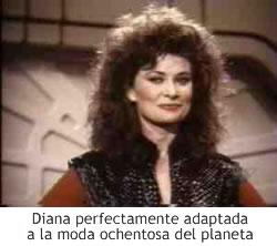 Diana a la moda de los 80
