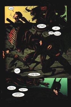 Batman Aliens - Conociendo al enemigo