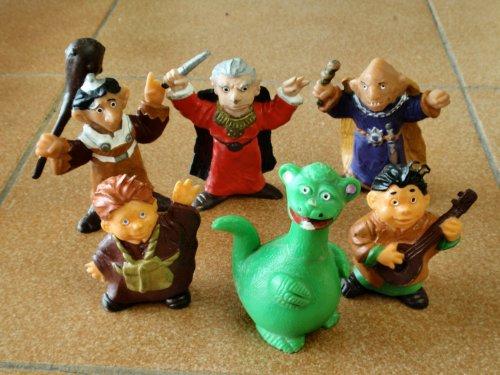 Muñecos de goma - Los Aurones