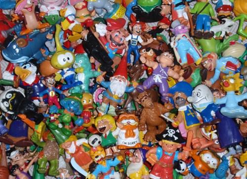 Muñecos de goma - Una parte de mi colección