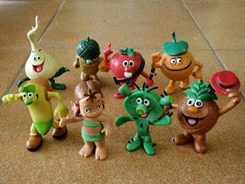 Muñecos de goma - Los Fruittis