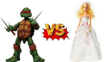 Muñecos que me avergüenzan - Raphael vs. Barbie