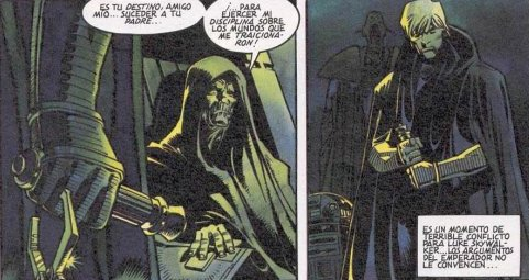 Star Wars Imperio Oscuro - Encuentro con el Emperador
