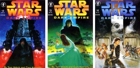Star Wars Imperio Oscuro - Portadas nº 2 a 4