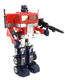 Transformers: The Movie - El Optimus Prime original