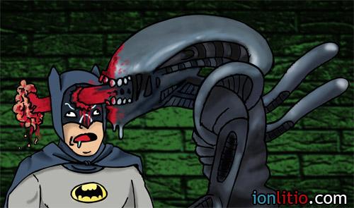 Batman Aliens - ¿Y si...?