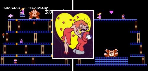 Pauline - Donkey Kong, Pauline rescatada