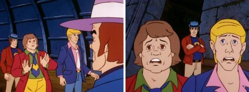 Los Cazafantasmas de Filmation - Jake y Eddie