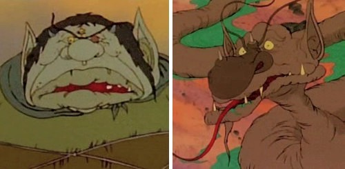 El vuelo de los dragones - El ogro y el gusano