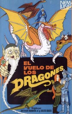 El vuelo de los dragones - Portada