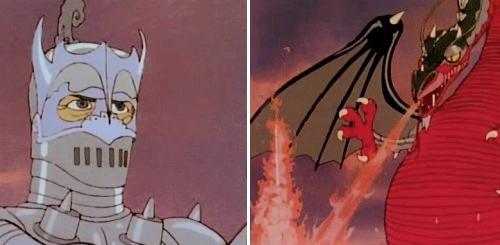 El vuelo de los dragones - Sir Orin contra Bryaugh