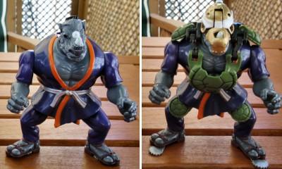 Tortugas Ninja: Mutations - Rocksteady Ninja Nocturno