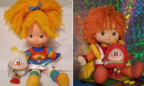 Muñecos que me avergüenzan - Rainbow Brite