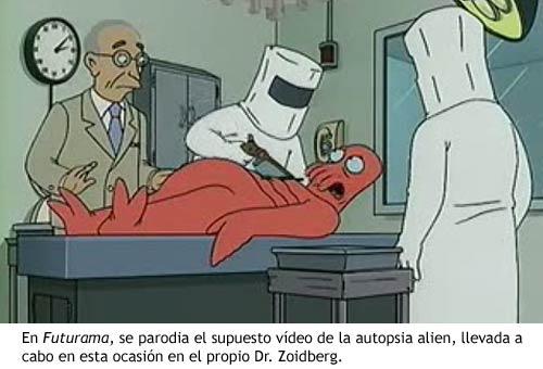 Incidente Roswell - Futurama