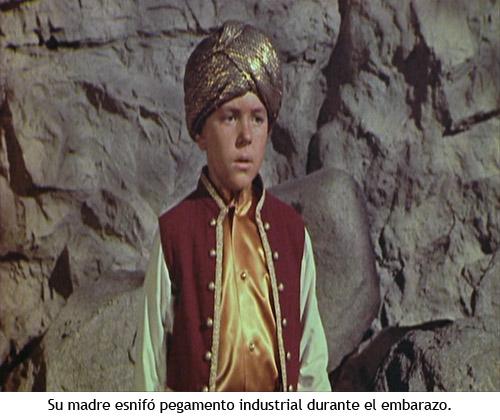 Simbad y la princesa - El genio