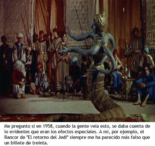 Simbad y la princesa - La mujer-serpiente