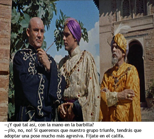 Simbad y la princesa - Sokurah, Simbad y el califa