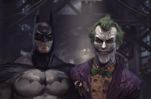 Batman: Arkham Asylum - Batman y el Joker