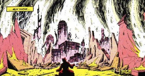 Dreadstar núm. 1 - El planeta de los gatos destruido