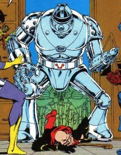 Dreadstar núm. 1 - Robot gigante