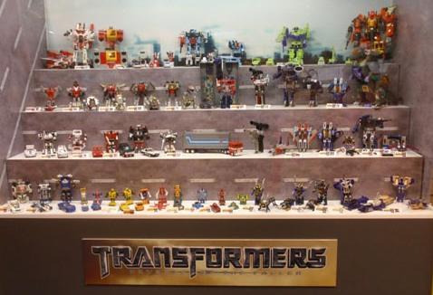 Exposición de Transformers - Portada