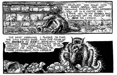 Las Tortugas Ninja de Eastman y Laird: Origen - Mutando