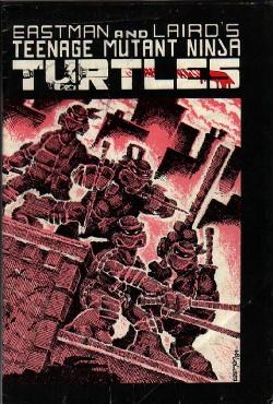 Las Tortugas Ninja de Eastman y Laird: Origen - Portada