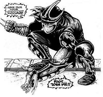 Las Tortugas Ninja de Eastman y Laird: Origen - Shredder