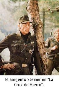 Héroes de acción de los 60 y 70 - James Coburn como el Sargento Steiner