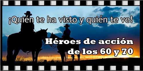 Héroes de acción de los 60 y 70 - Portada
