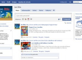 ion litio se estrena en Facebook
