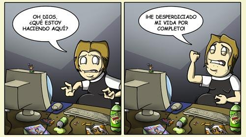 MMORPG - Vida desperdiciada