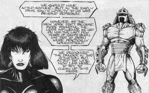 Las Tortugas Ninja de Eastman y Laird - Ciudad en guerra - Karai