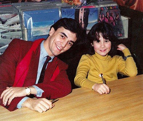 Enrique y Ana - Firma de discos