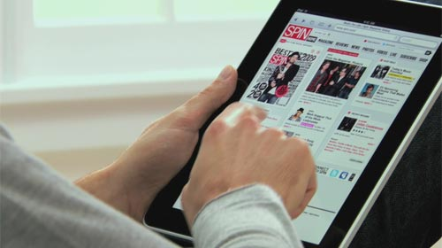 iPad - Navegando por la web