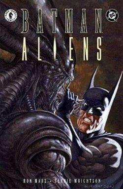 Batman Aliens - Portada