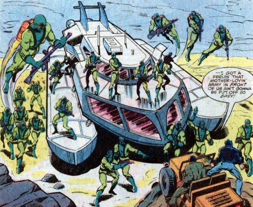 Iron Man - El demonio en la botella - Emboscados por tipos de verde