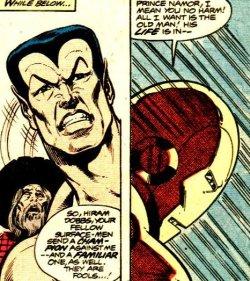 Iron Man - El demonio en la botella - Namor