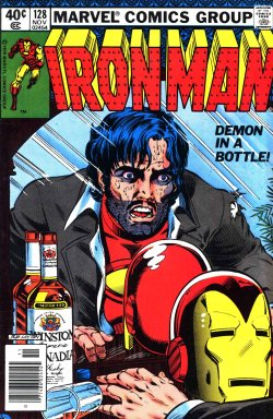 Iron Man - El demonio en la botella - Portada